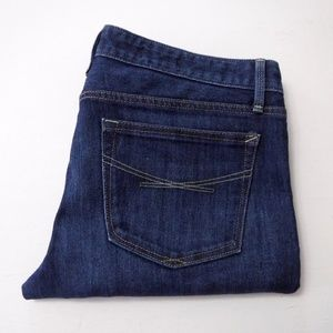 Gap 1969 Real Straight Jeans Size 30/10a Dark Wash